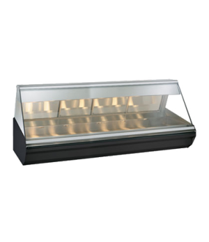 "Halo Heat® Heated Display Case, countertop, 96"" L, full/self-service, self-servi"