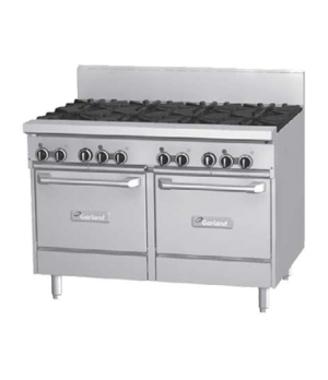 "GF Starfire Pro Series Restaurant Range, gas, 48"", (8 26,000 BTU open burners, w"