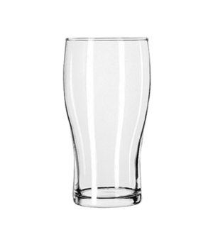 "Pub Glass, 20 oz., Safedge® Rim guarantee, (H 6-1/8""; T 3-1/8""; B 2-5/8""; D 3-3/"