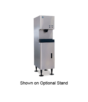 Ice Maker/Water Dispenser, Cubelet-Style, air-cooled, self-contained condenser,