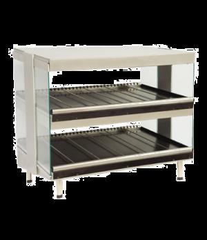 """Heat-Wave™ Classic Display Merchandiser, electric, countertop, 24"""" wide, 1/4"""" te"""