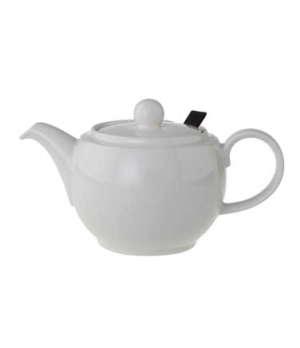 Teapot, 15 oz., with filter, premium porcelain, Universal