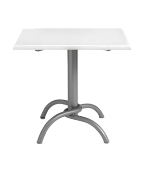 "Table Base, fixed, 28"" x 28"" base spread, for use with indoor table tops, adjust"