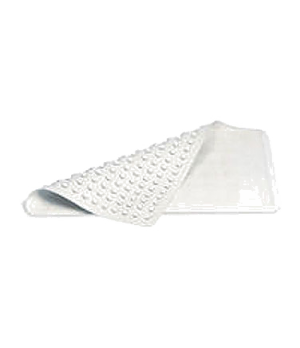 "Safti-Grip® Bathmat, 36""L x 18""W, x-large, suction-backed, white"