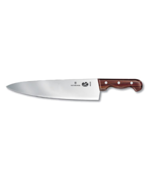 "Chef's Knife, 13"" lobster splitter, 3"" width at handle, extra heavy, rosewood ha"