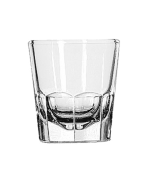 """Old Fashioned Glass, 5 oz., (H 3-1/8""""; T 2-7/8""""; B 2-1/4""""; D 2-7/8"""")"""