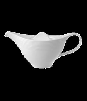 Teapot #5, 13 oz., premium porcelain, Sedona