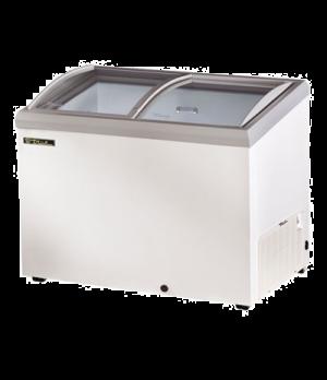 "Horizontal Freezer, -10° holding temp., tempered, hard coated, ""Low-E glass, (2)"