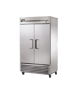 Freezer, Reach-in, two-section, -10°F, (2) stainless steel doors, stainless stee