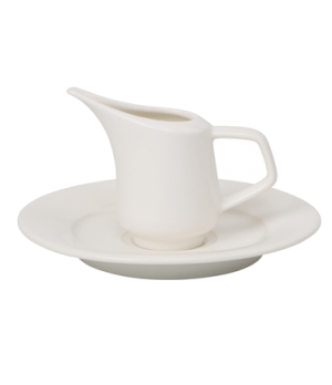 Creamer/Sauceboat, 3-1/4 oz., premium porcelain, Affinity
