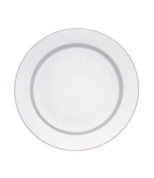 "Buffet Plate, 12-5/8"", round, premium porcelain, Easy White"