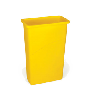 "Slim Jim® Waste Container, 23 gallon, 20""W x 11""D x 30""H, general purpose waste,"