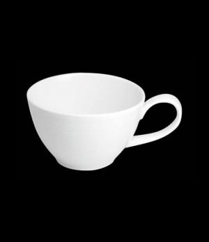 "Coffee Cup, 8 oz., 5-1/8""W x 2-3/8""H, porcelain, Tria, Wish (minimum = case quan"