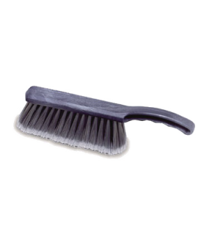 "Brush, 12-1/2"" L, plastic block, flagged polypropylene fill with 8"" bristle cove"