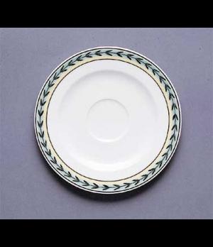 "Saucer, 5-1/8"", (cup OCR's -1437, -1450/51), premium porcelain, French Garden-Da"