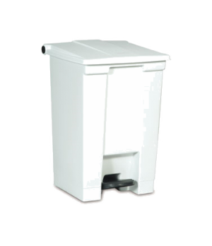 """Step-On Container, 12 gallon, 16-1/4"""" x 15-3/4""""W x 23-5/8""""H, hands free, heavy-d"""