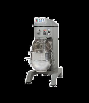 Planetary Pizza Mixer, 60 qt., floor model, 2-speed, #12 hub, front mounted elec