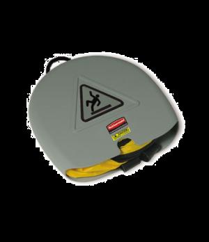 "Safety Cone, ""Caution"", English, Spanish, French, folding, yellow"