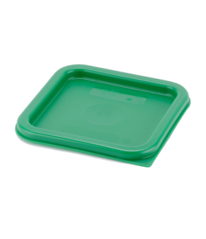 Cover, for 2 & 4 qt. containers, Kelly green polyethylene, NSF