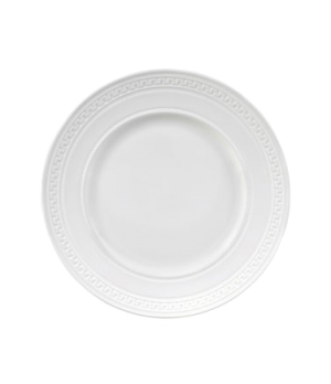 Intaglio Dinner Plate, dishwasher safe, bone china, white