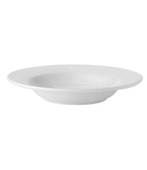 "Soup Plate, 10 oz. (296ml), 9"" (23 cm), round, rimmed, microwave & dishwasher sa"