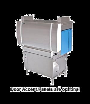 Dishwasher, Conveyor Type, high temperature sanitizing, single tank design, adju