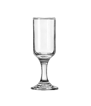 "Cordial Glass, 1-1/4 oz., Safedge® Rim and foot guarantee, EMBASSY®, (H 4-1/8"";"