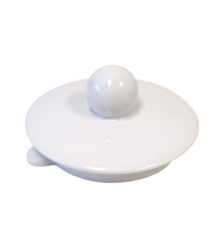 "Teapot Lid Only, 3"", for 0630, white premium porcelain, Universal"