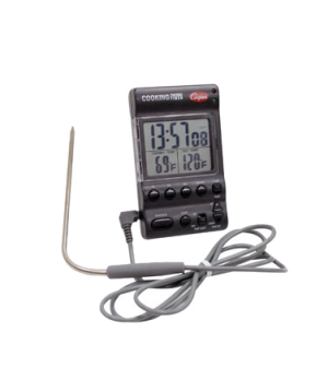 """Electric Cooking Thermo-Timer, 6-1/2"""" (16.5cm) shaft length, 90° bend, 0.158"""" (4"""