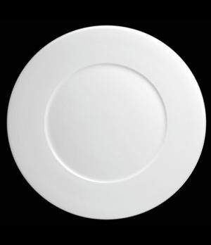 "Plate, 6-1/4"" dia. (4-1/8"" well), round, flat, porcelain, Tria, Wish (minimum ="