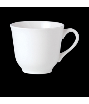Slimline Cup, 7 oz., tall, vitrified china, Performance, Simplicity, Black Line