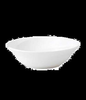 Solar Oatmeal, round, dishwasher safe, bone china, white