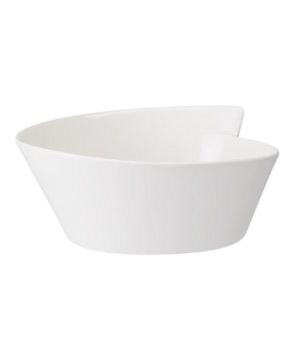 """Plate/Lid, 4-1/3"""" x 4"""", flat, free form, dishwasher & microwave safe, white, pre"""