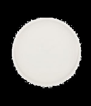 "Dinner Plate, 10-1/2"" dia., round, white, premium porcelain, Artesano"