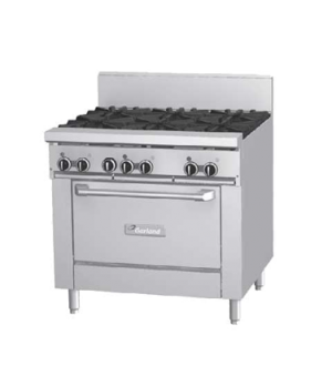 "GF Starfire Pro Series Restaurant Range, gas, 36"", (6 26,000 BTU open burners, w"