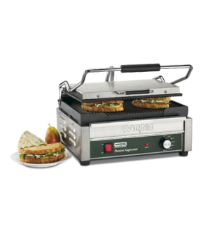 "Italian Supremoâ""¢ Large Panini Grill, electric, single, 14-1/2"" x 11"" cooking s"