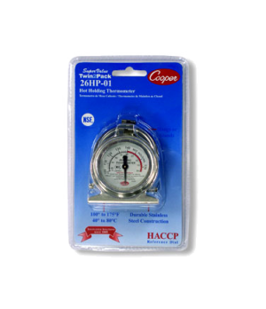 "Proofing/Holding Cabinets Thermometer, HACCP 2"" (5cm) dia. reference dial and co"