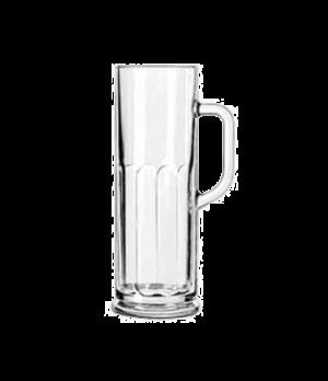 "Mug Glass, 21 oz., (H 9""; T 3""; B 3-3/8""; D 4-3/8"")"