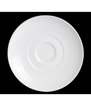 """AD Saucer, 5-3/4"""", fits 6300P176, porcelain, Aura, Rene Ozorio (minimum = case q"""