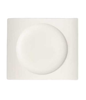 "Salad/Dessert Plate, 9-1/2"" x 8-5/8"", premium porcelain, New Wave"
