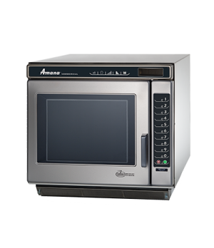 Amana® Commercial Microwave Oven, 1.0 cu. ft., 3000 watts, heavy volume, 100 pro