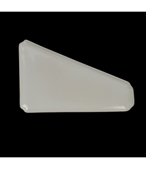 "Flat Bread Tray, 16-1/4"" x 10-1/2"", trapezoid, Anfora, American Basics (priced p"