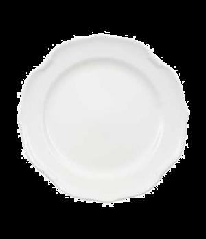 "Plate, 10-5/8"", flat, premium porcelain, La Scala"