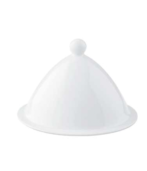 "Cover, 6-1/8"", premium porcelain, Marchesi"