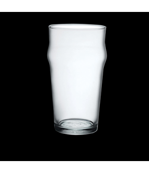 "Beer Glass, 19-3/4 oz., 3-1/2"" x 6"", tempered, stackable, Bormioli, Nonix (USA s"