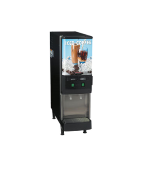 37900.0002 JDF-2S Silver Series® 2-Flavor Cold Beverage System, (4) 5 oz. drinks