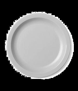 "Camwear® Plate, narrow rim, 5-1/2"", lightweight polycarbonate, non-porous surfac"