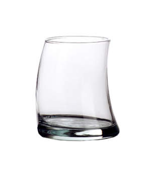 "Double Old Fashioned Glass, 12-1/4 oz., BRAVURA, (H 4""; T 2-3/4""; B 3-3/8""; D 3-"
