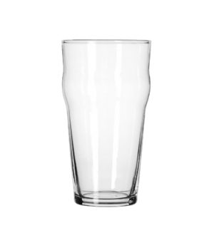 "English Pub Glass, 16 oz., Safedge® Rim guarantee, heat treated, (H 6""; T 3-1/8"""