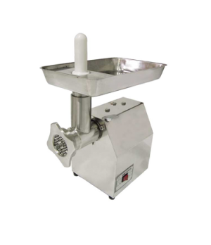 (11046) Meat Grinder, electric, light duty, #12 head, stainless steel body, stai